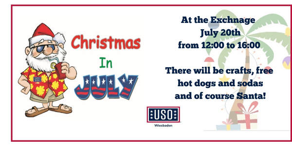 Christmas In July Clipart Free.Christmas In July Uso Wiesbaden
